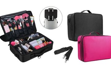 Multi-Layer Professional Make-up Bag - 2 Colours & 2 Sizes