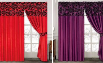 Pencil Pleat Curtains - 2 Sizes and 10 Colours