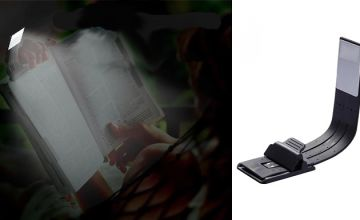 Flexible Clip-On LED Reading Lamp - 2 Colours