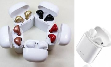 Wireless Bluetooth Earpods - 5 Colours