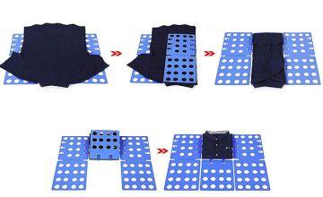 Adjustable Flip & Fold Clothes Folding Board