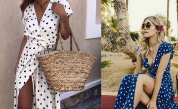 Polka Dot Beach Dress - 4 Colours