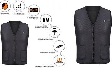 USB Electric Heated Vest - 5 Sizes