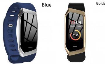 E18 Bluetooth Heart Rate Smart Bracelet - 4 Colours