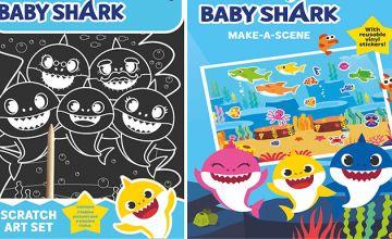 Baby Shark Art & Sticker Set