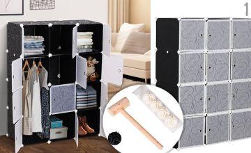 Portable DIY Wardrobe - 3 Styles