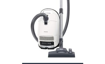 Save 15% on Miele Complete C3 Silence Bagged Vacuum Cleaner, 550 W, White [Amazon Exclusive]