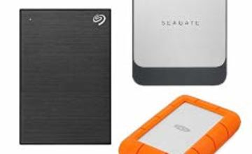 Up to 35% off Seagate and LaCie Drives
