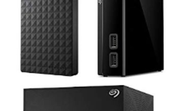 Up to 37% off Seagate Storage