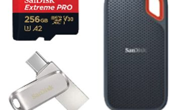 Up to 20% off SanDisk Memory & Storage