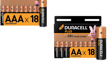 Up to 28% off Duracell batteries