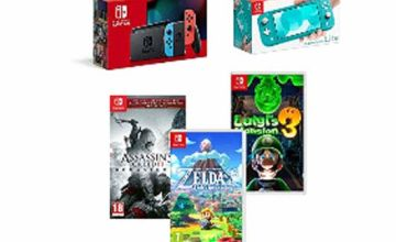 Save On Nintendo Switch Consoles + Games