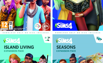 Up to -75%: Sims 4 Games, Packs & DLCs [PC]