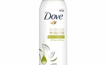 Dove Shower Mousse Coconut Oil, 200 ml, Pack of 6
