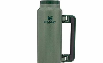 Save on Stanley Classic Legendary Bottle 1.4L / 1.5QT Hammertone Green Vacuum, Matte Black and more