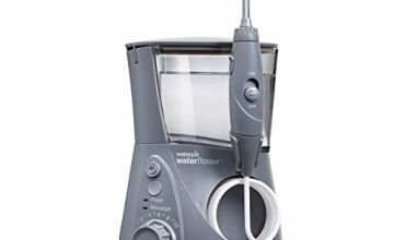 Waterpik WP-667UK Ultra Professional Water Flosser, Grey Edition (UK 2-Pin Bathroom Plug)