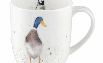 Portmeirion Home & Gifts Guard (Duck) Single Mug, Multicoloured, 9