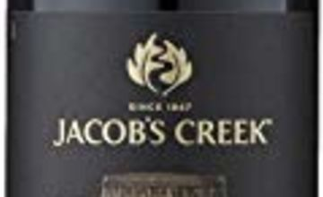 Jacob's Creek Double Barrel Shiraz Red Wine, 75 cl
