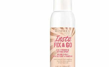 Rimmel London Insta Fix & Go Setting Spray, 100ml