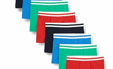 Save on FM London Boy's Hipster Boxer Shorts, Classic Assorted, XL (11-12) (Pack of 8) and more