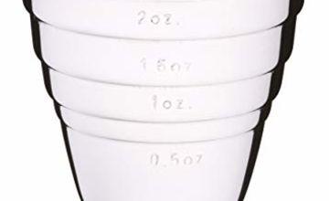 Barcraft Stainless Steel Jigger (spirit measuring cup)