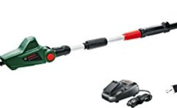 Over 20% off Bosch Cordless Telescopic Hedge Trimmer UniversalHedgePole 18 (1 Battery, 18 Volt System in Cardboard Box)