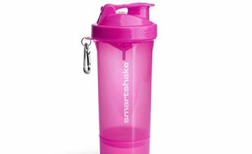 Save on Smartshake Slim Bottle Shaker Cup with 500 ml Capacity, Neon Pink and more