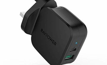 RAVPower USB C Charger, Quick Charge 18W PD and Power Delive