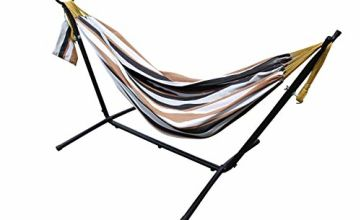Pure Cotton Hammocks with Stand, Available in 4 Colours
