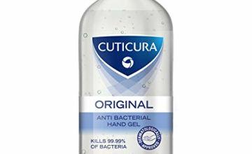 Cuticura Original Anti-Bacterial Hand Gel 500 ml    Pack of 6 x 500ml