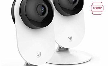 YI Home Camera 1080p (2 pcs) AI+
