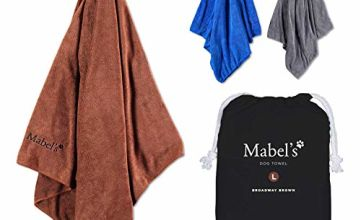 Mabel's® Dog Towel - Super Soft and Absorbent Towel for Dogs