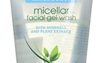 Simple Micellar Cleansing Water Gel, Face Wash for Sensitive Skin for Women and Teenagers, 2-Month Supply (6 x 150 ml)