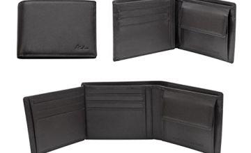 Alankara RFID Blocking Wallet Mens Wallet - Genuine Leather