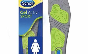 Scholl Women's Gel Activ Sport Insoles, UK Size 3.5 to 7.5