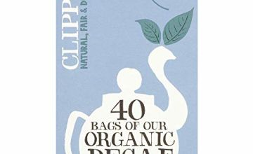 Clipper Decaffeinated Everyday Teabags, 6x40 each