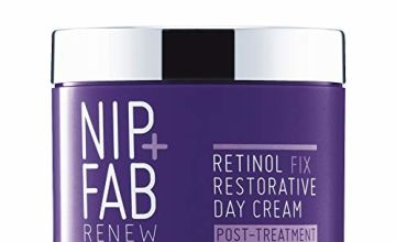 Save on Nip+Fab Retinol Fix Restorative Day Cream Post-Treatment and more