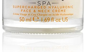Sanctuary Spa Hyaluronic Face Cream Supercharged Hyaluronic Face and Neck Creme, 50 ml