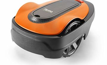 Flymo EasiLife 350 Robotic Lawn Mower - Cuts Upto 350 sq m Ultra Quiet Mowing, Manicured Lawn, Bluetooth Application Control, Safety Sensors, Hose Washable, Lifestyle Functions, Frost Sensor