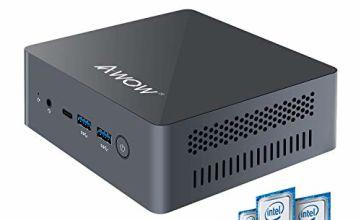 Mini PC AWOW Mini Desktop Computer with Windows 10
