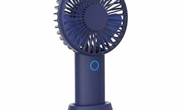 Handheld USB Fans, Nozdom Mini Portable Outdoor Fan Recharge