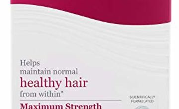 Viviscal Maximum Strength Hair Supplements - Pack of 180 Tablets (3 Months Supply)