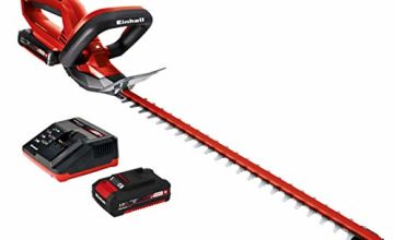 Einhell GE-CH 1846 Li Kit Power X-Change Cordless Hedge Trimmer with 46 cm Cutting Length