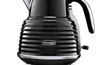 Up to 30% off De'Longhi Scultura Kettle & Toaster, Black