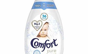 Comfort Ultra Concentrated Pure Hypoallergenic Fabric Conditioner No.1 for Sensitive Skin* 36 Washes, 6 X 540 ml