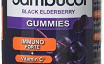Sambucol Immuno Forte Gummies | Vitamin C | Zinc | Immune Support Supplement | 30 Gummies