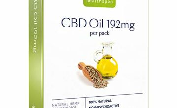 Save on Healthspan High Strength CBD Oil Capsules, 192 mg, 30 Capsules and more