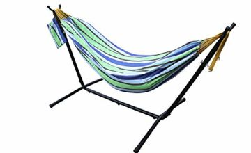 Save On Pure Cotton Hammocks with Stand, Available in 4 Colours