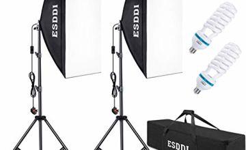 ESDDI Softbox Studio Lights 800W