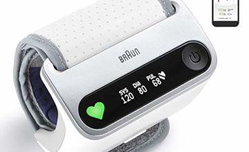 Braun iCheck 7 Wrist Blood Pressure Monitorfor Smart and Fast Measurement